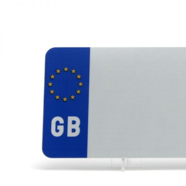 Euro Badged White Reflective