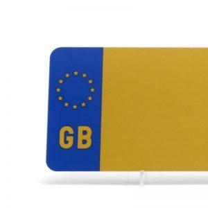 Euro Badged Yellow Reflective