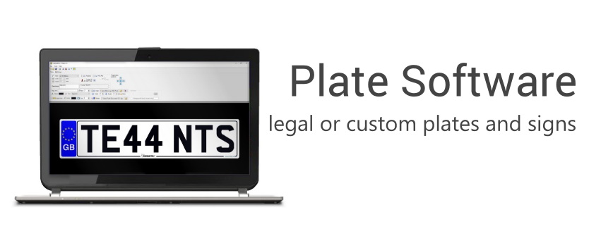 Number Plate Software