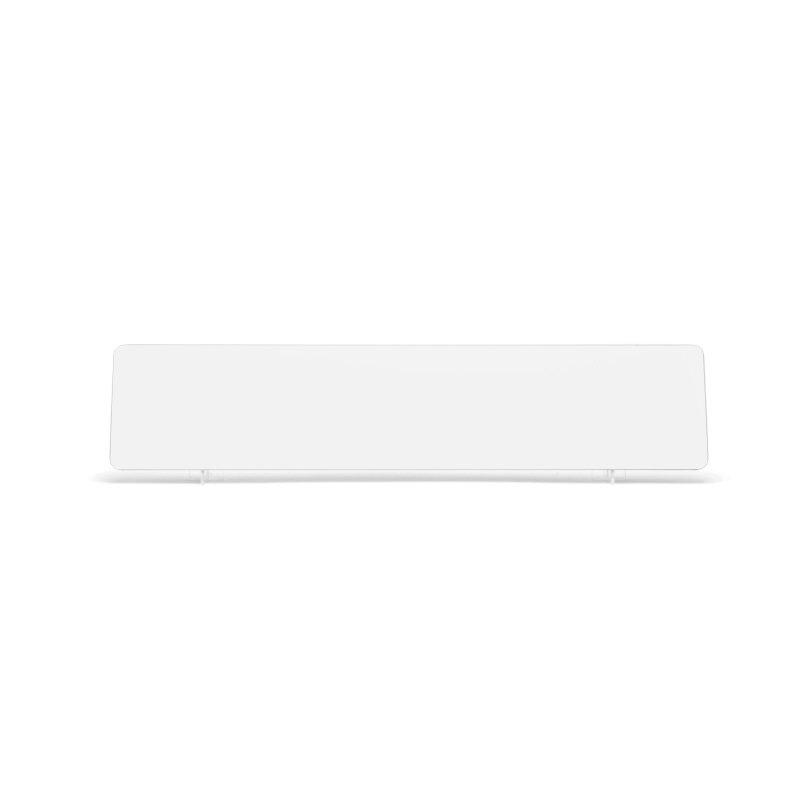 lg001w White Oblong Plate