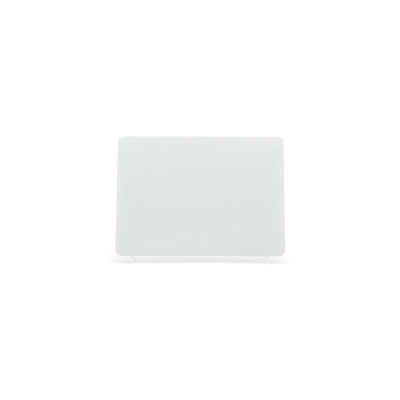lg002w White 4x4 Plate