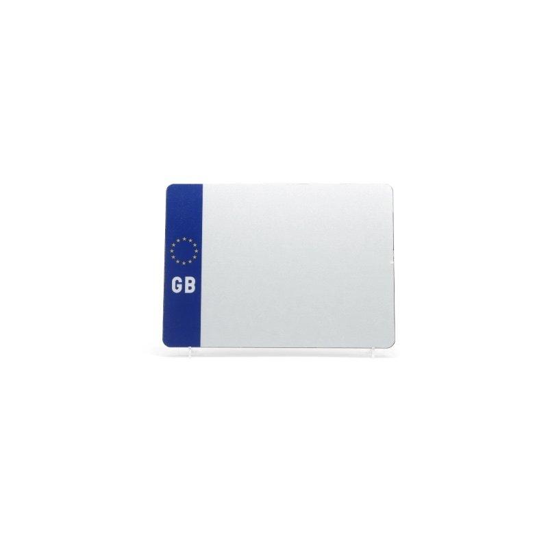 lg002wgb White 4x4 GB Plate