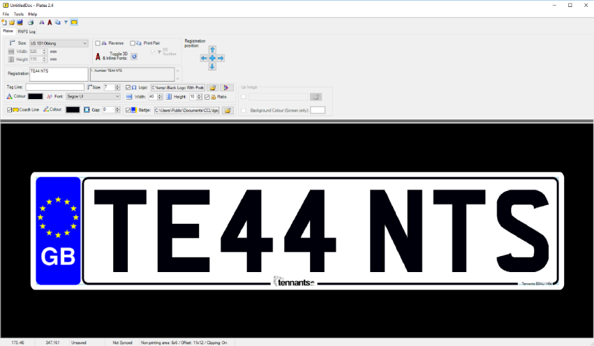 LG Plates Software provides automatic compliance