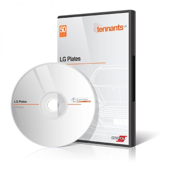 LG Plates Software Disc and Case