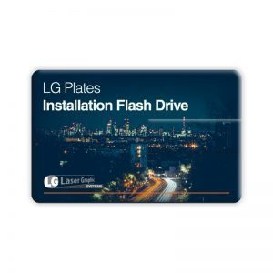 LG Plates Software USB Stick