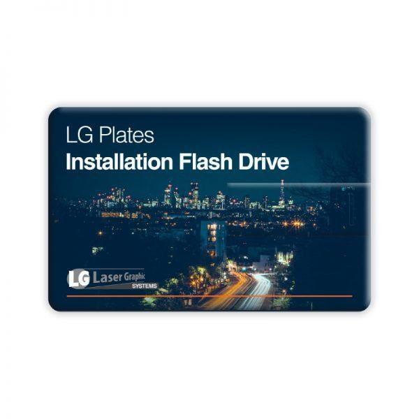 LG Plates Software USB Stick