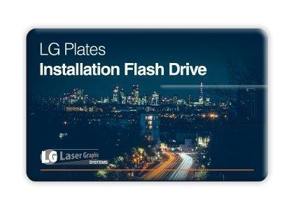 LG Plates Software USB
