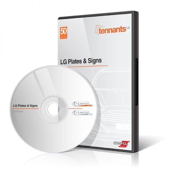 LG Signs Software Disc and Case