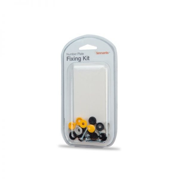 Universal Number Plate Fixing Kit