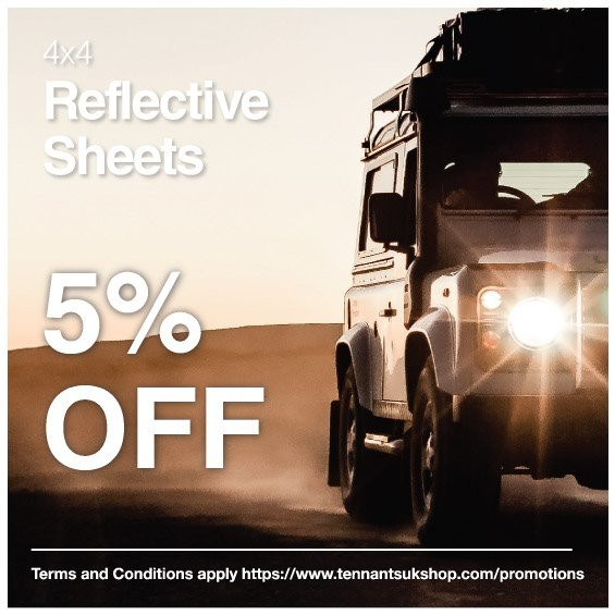 5% Off 4x4 Reflective