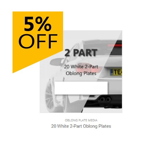 5% Off 20 Plate Bundles