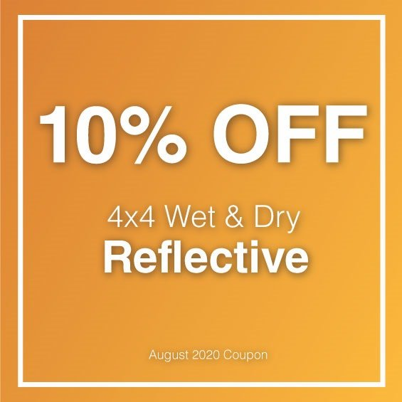 August 4x4 Reflective Offer
