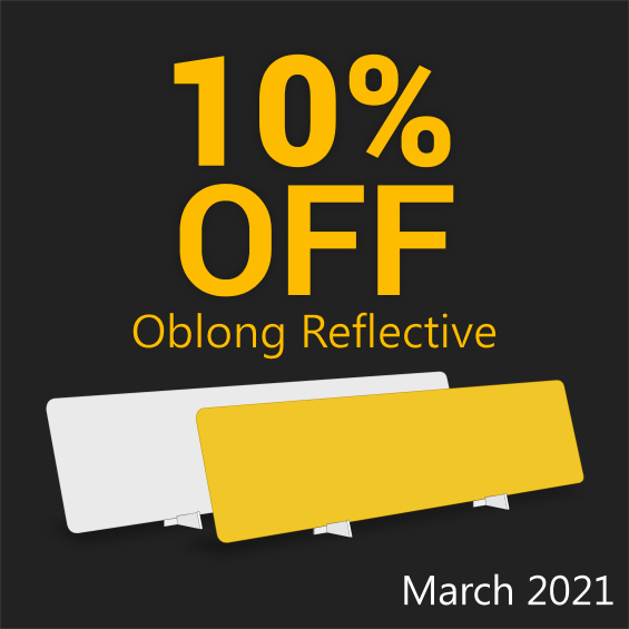 Save on Oblong Reflective - March 2021