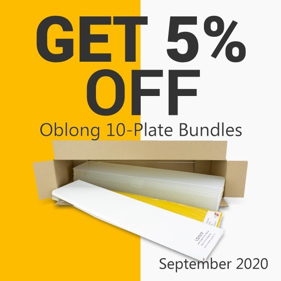 Get 5% OFF Tennants Oblong 10-Plate Bundles this September