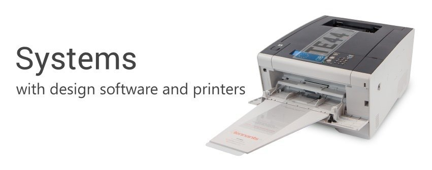 Complete Systems with Software and Printer