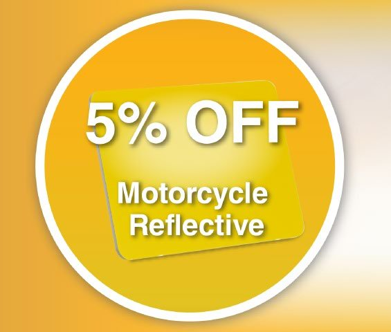 Motorcycle Reflective June offer