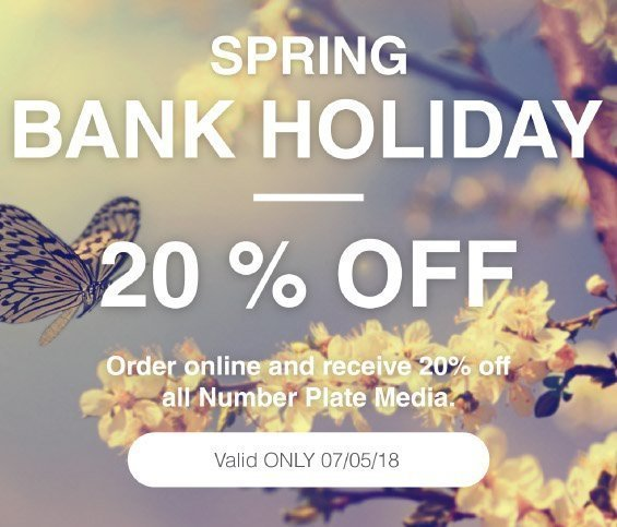 Spring Bank Holiday Offer