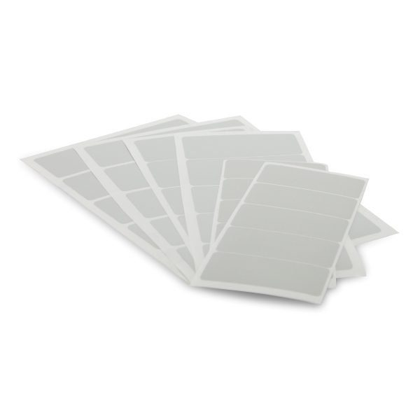 White Badge Panel 94x43mm