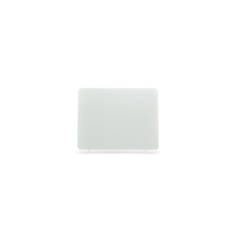 lg003w White Motorcycle Plate