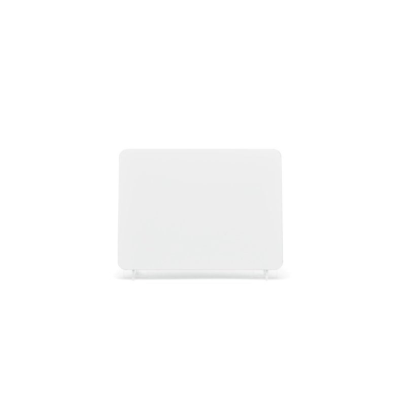 lg007w White 178x127mm Plate