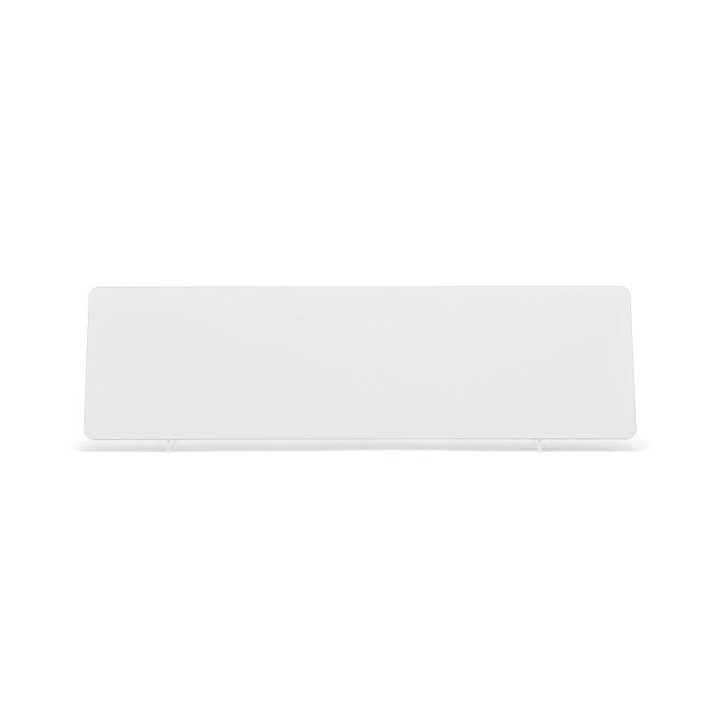 lg040w White 533x152mm Plate