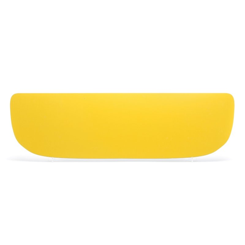 lg084y Yellow Skoda Superb Shaped Plate