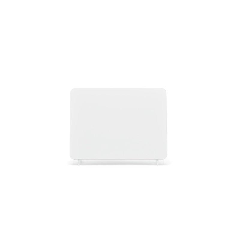 nrd007w White 178x127mm Reflective