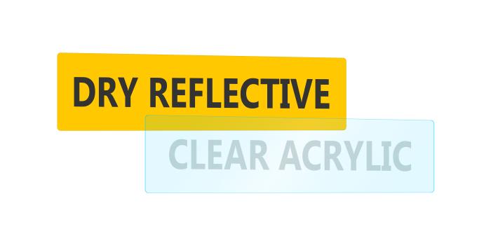 Reflective and Acrylic Plates