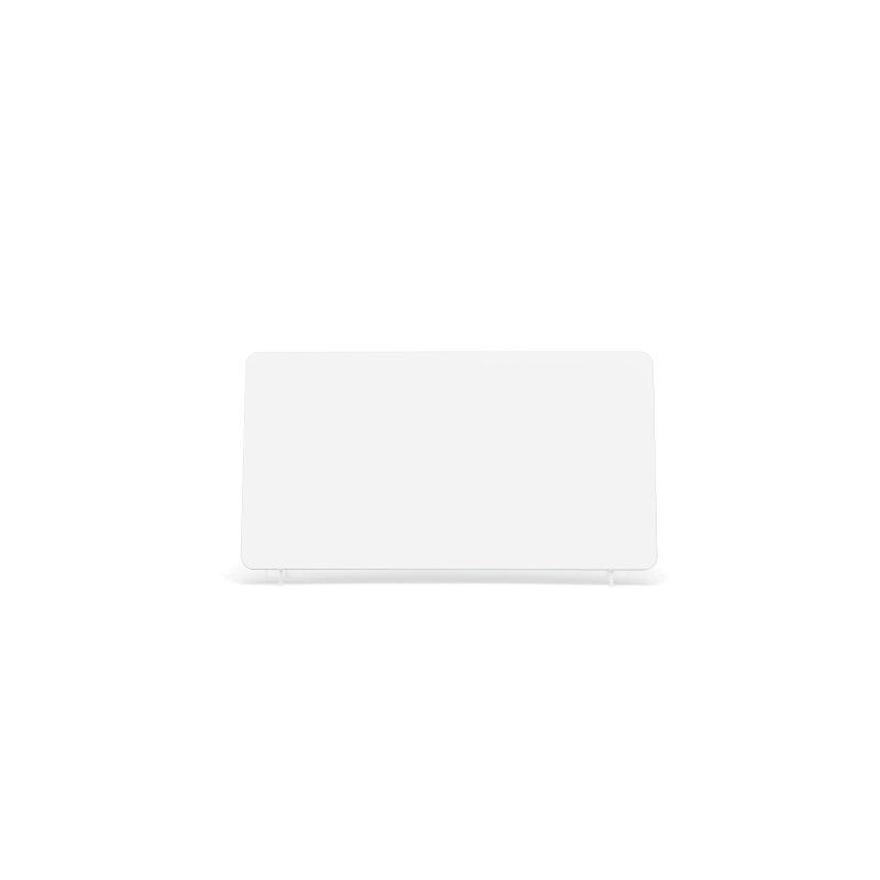 White 330x178mm Reflective