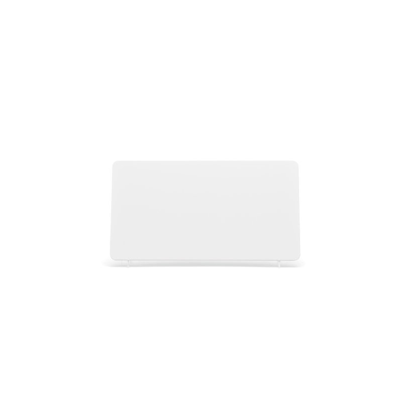 White 330x178mm Plate