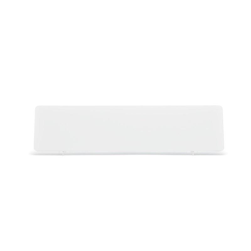 White 520x127mm Reflective