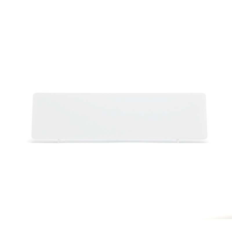 White 520×140mm Reflective