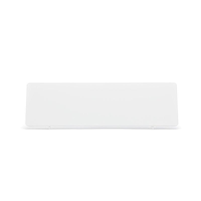 White 520×152mm Reflective