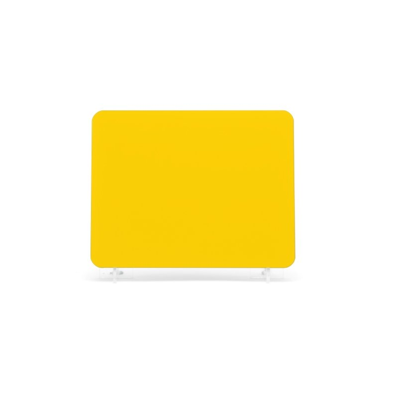 Yellow 184x108mm Plate