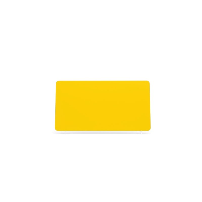Yellow 330x178mm Plate