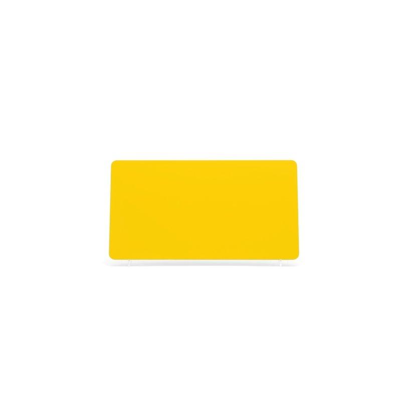 Yellow 330x178mm Wet Reflective