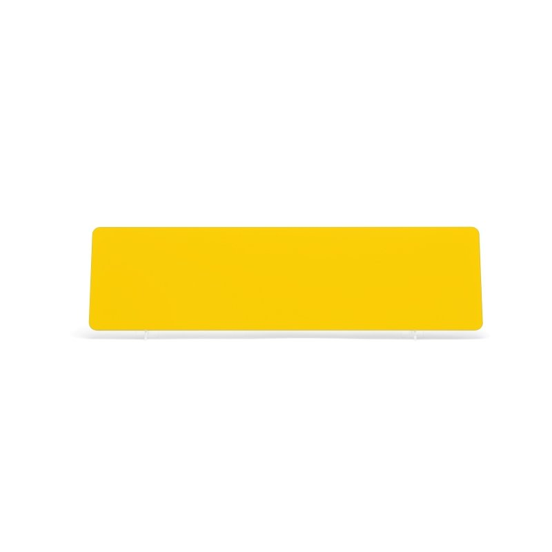 Yellow 520×140mm Reflective