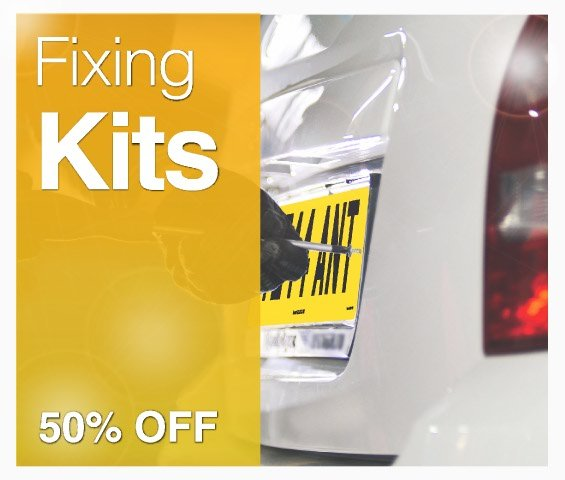 Number plate fixing kit offer