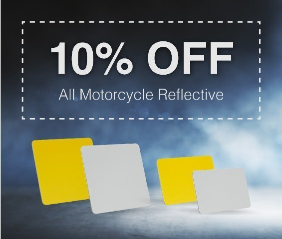 September Offer on Motorcycle Reflective Sheets