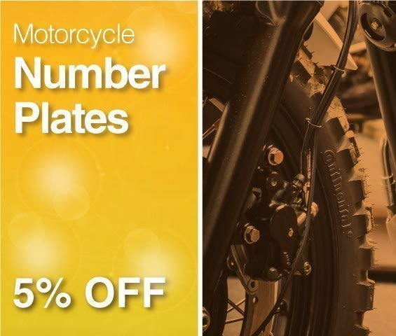 Motorcycle Plates Sale
