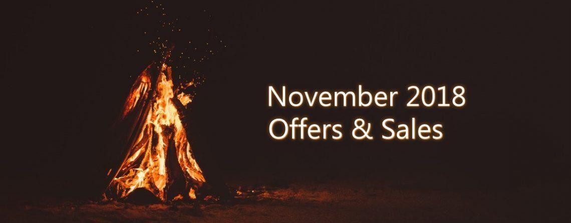November 2018 Offers