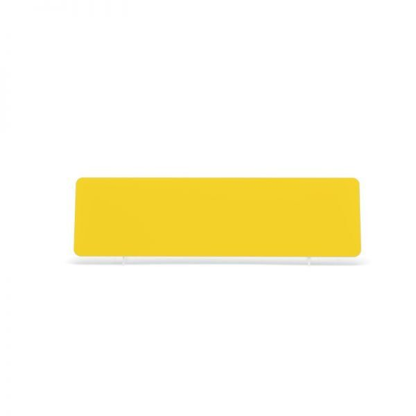 Yellow 406x111mm ABS