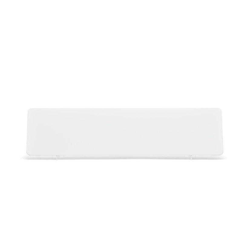White 520x127mm Wet Reflective