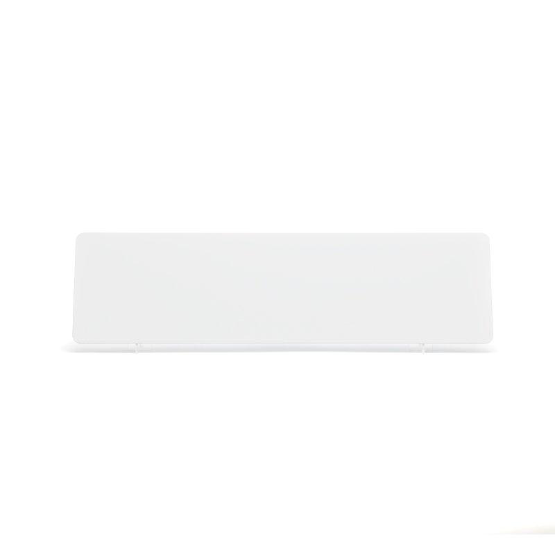 White 520x140mm Wet Reflective