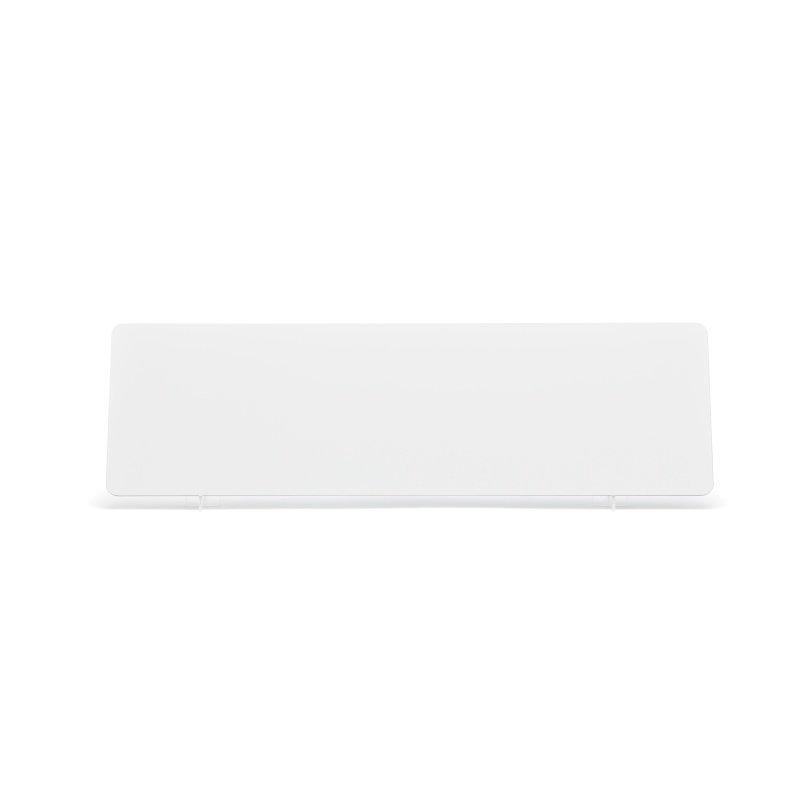 White 520x152mm Wet Reflective