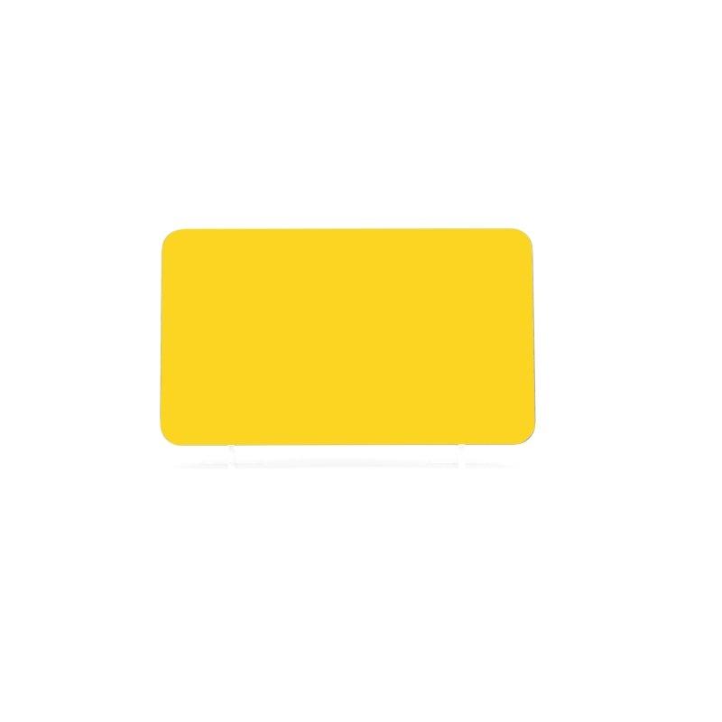 Yellow 184x108mm Wet Reflective