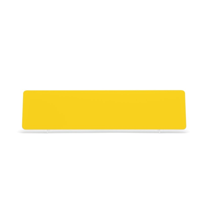 Yellow 520x127mm Wet Reflective