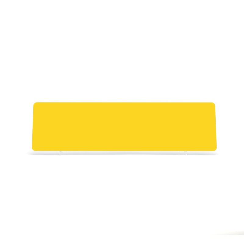 Yellow 520x140mm Wet Reflective