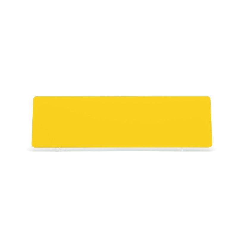 Yellow 520x152mm Wet Reflective