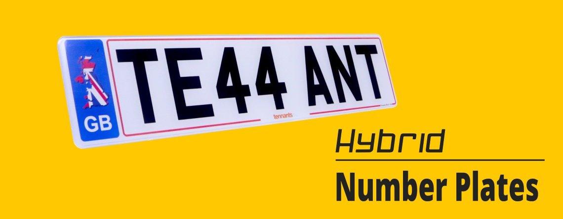 Hybrid Number Plates